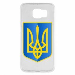 Чехол для Samsung S6 Герб України 3D