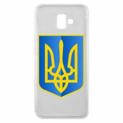 Чехол для Samsung J6 Plus 2018 Герб України 3D
