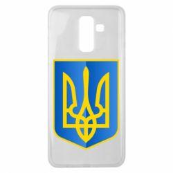 Чехол для Samsung J8 2018 Герб України 3D