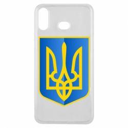 Чехол для Samsung A6s Герб України 3D