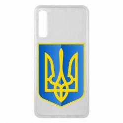 Чехол для Samsung A7 2018 Герб України 3D