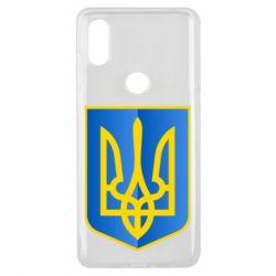 Чохол для Xiaomi Mi Mix 3 Герб України 3D