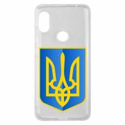 Чохол для Xiaomi Redmi Note Pro 6 Герб України 3D