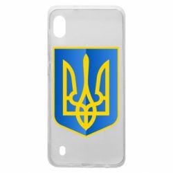 Чехол для Samsung A10 Герб України 3D