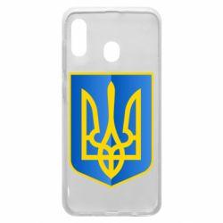 Чехол для Samsung A20 Герб України 3D