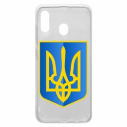 Чехол для Samsung A30 Герб України 3D