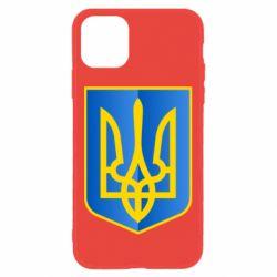Чехол для iPhone 11 Герб України 3D