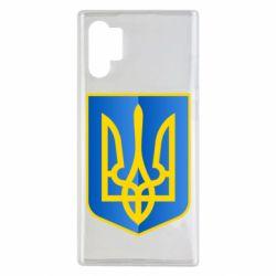 Чехол для Samsung Note 10 Plus Герб України 3D