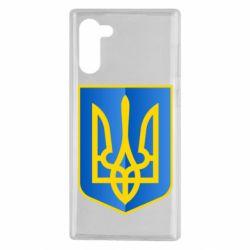 Чехол для Samsung Note 10 Герб України 3D
