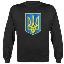 Реглан (свитшот) Герб України 3D - FatLine