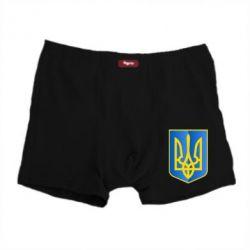 Мужские трусы Герб України 3D - FatLine