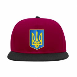 Снепбек Герб України 3D - FatLine