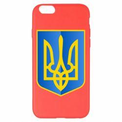 Чехол для iPhone 6 Plus/6S Plus Герб України 3D