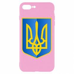 Чехол для iPhone 7 Plus Герб України 3D