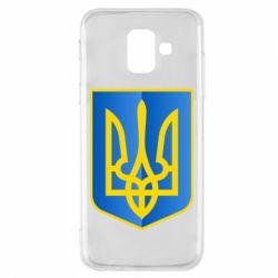 Чехол для Samsung A6 2018 Герб України 3D