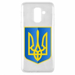 Чехол для Samsung A6+ 2018 Герб України 3D