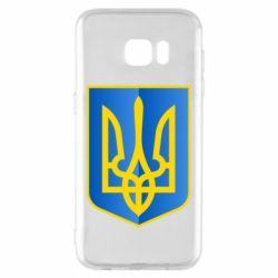 Чехол для Samsung S7 EDGE Герб України 3D