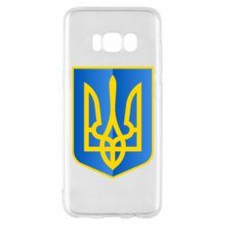 Чехол для Samsung S8 Герб України 3D
