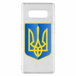 Чехол для Samsung Note 8 Герб України 3D
