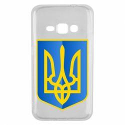 Чехол для Samsung J1 2016 Герб України 3D