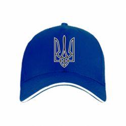 кепка Герб України (двокольоровий) - FatLine