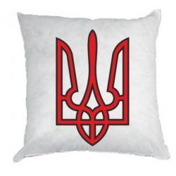 Подушка Герб України (двокольоровий) - FatLine