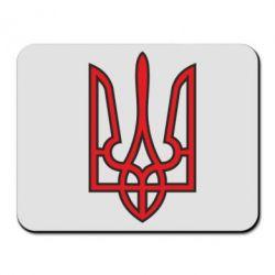 Коврик для мыши Герб України (двокольоровий) - FatLine