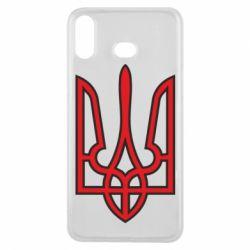 Чехол для Samsung A6s Герб України (двокольоровий) - FatLine