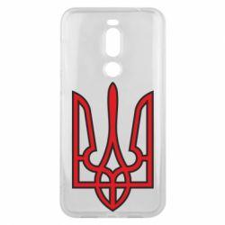 Чехол для Meizu X8 Герб України (двокольоровий) - FatLine