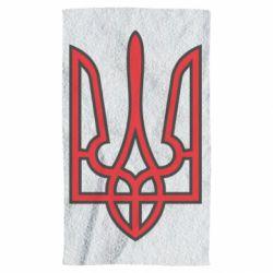 Полотенце Герб України (двокольоровий) - FatLine