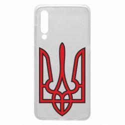 Чохол для Xiaomi Mi9 Герб України (двокольоровий)