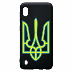 Чохол для Samsung A10 Герб України (двокольоровий)