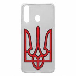 Чохол для Samsung A60 Герб України (двокольоровий)