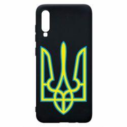 Чохол для Samsung A70 Герб України (двокольоровий)