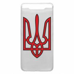 Чохол для Samsung A80 Герб України (двокольоровий)