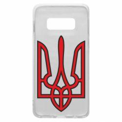 Чохол для Samsung S10e Герб України (двокольоровий)