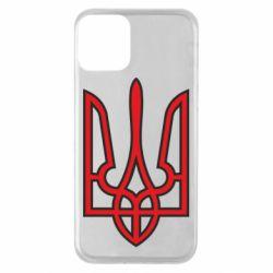 Чохол для iPhone 11 Герб України (двокольоровий)