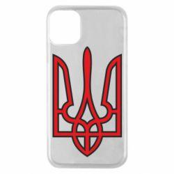 Чохол для iPhone 11 Pro Герб України (двокольоровий)