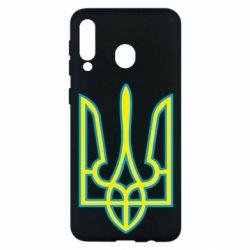 Чохол для Samsung M30 Герб України (двокольоровий)