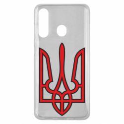Чохол для Samsung M40 Герб України (двокольоровий)