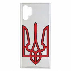 Чохол для Samsung Note 10 Plus Герб України (двокольоровий)