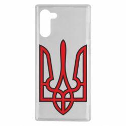 Чохол для Samsung Note 10 Герб України (двокольоровий)