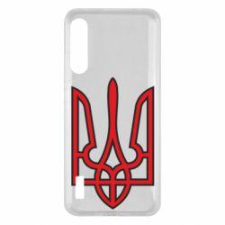 Чохол для Xiaomi Mi A3 Герб України (двокольоровий)