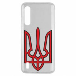 Чохол для Xiaomi Mi9 Lite Герб України (двокольоровий)