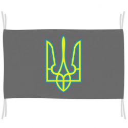 Прапор Герб України (двокольоровий)