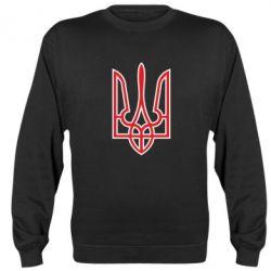 Реглан (свитшот) Герб України (двокольоровий) - FatLine