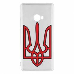 Чехол для Xiaomi Mi Note 2 Герб України (двокольоровий) - FatLine