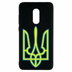 Чехол для Xiaomi Redmi Note 4 Герб України (двокольоровий) - FatLine