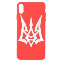 Чохол для iPhone X/Xs Герб України новий