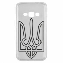 Чохол для Samsung J1 2016 Герб України (полий)